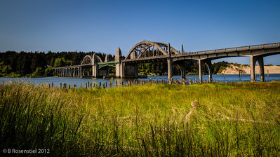 Bridge to Florence, Oregon, May, 2012