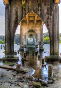 Under the Bridge, Florence, Oregon, May, 2012