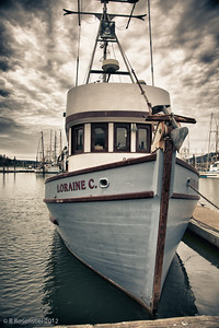 Sunrise, Charleston Dock, Charleston, Oregon, May, 2012