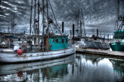 Sunrise, Charleston Dock, Charleston, Oregon, May, 2012