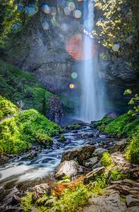 Latourell Falls, Columbia River Gorge, Oregon, May, 2012