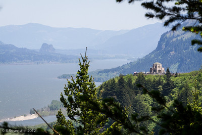 Vista House, Columbia River Gorge, Oregon, May, 2012