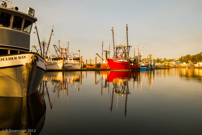 Sunrise, Newport Bayfront, Oregon, May, 2012