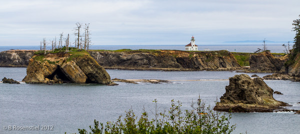 Cape Arago Lighthouse, Charleston, Oregon, May, 2012