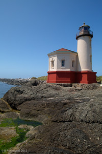 Coquille River Lighthouse, Oregon, May, 2012