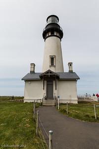 Yaquina Head Lighthouse, Oregon, May, 2012