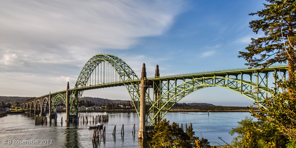 Yaquina Bay Bridge, Oregon, May, 2012