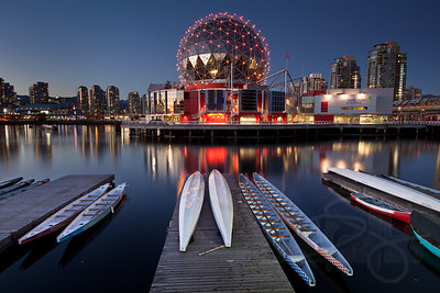 Science World. Vancouver, BC.