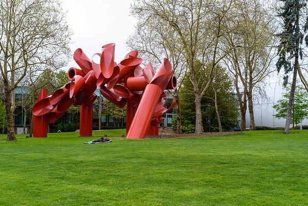 Seattle Center, April 17, 2020