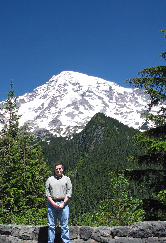 Steven and Mount Rainier.