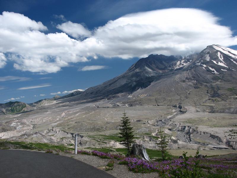 Mount Saint Helens.