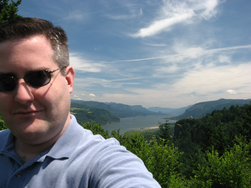 Me at the Columbia River Gorge.