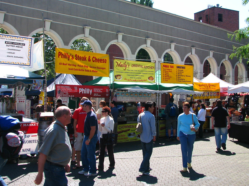 Portland's Saturday Market.