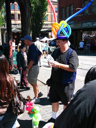 Portland's Saturday Market.