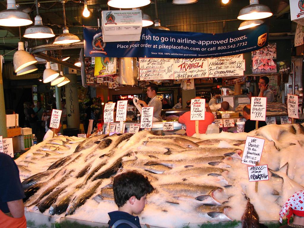 Pike Place Market.