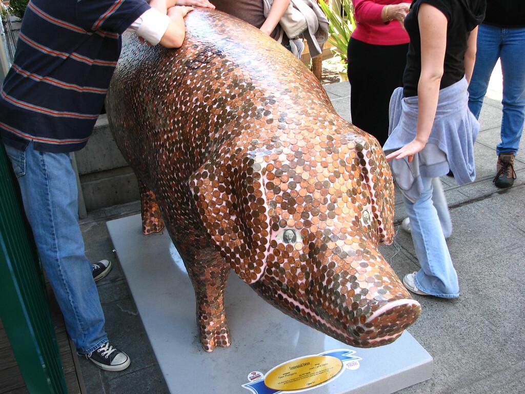 "Redefining ""piggy bank."""
