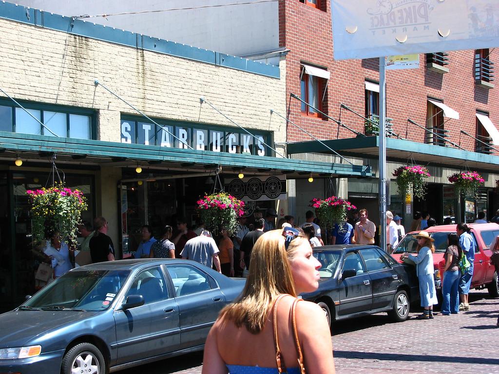Where it all started -- the original Starbucks.
