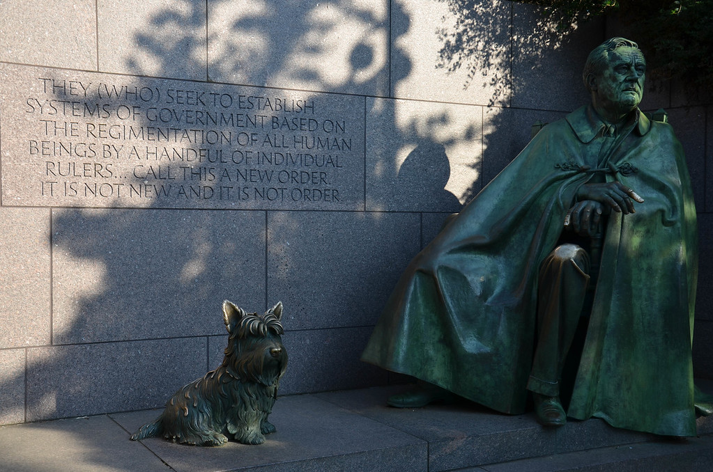 Roosevelt and Dog