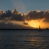 Sunset Over San Juan Bay