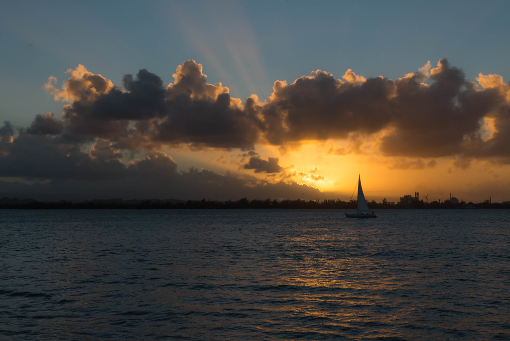 Sunset Over San Juan Bay