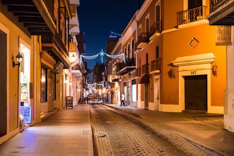Street in Old San Juan