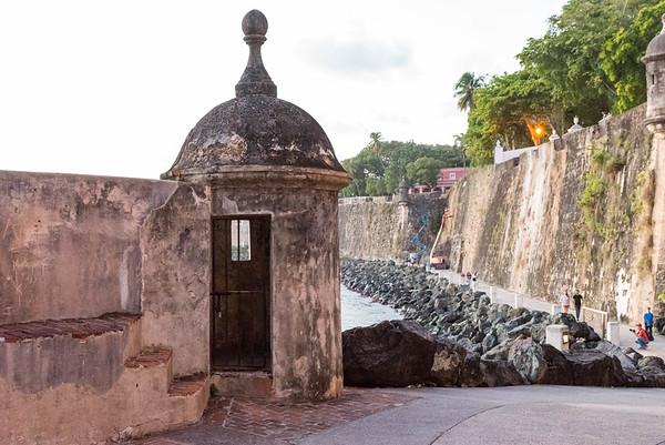Guard Tower at San Juan Gate