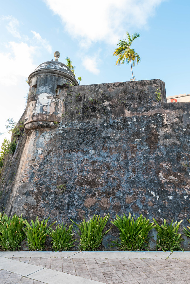 City Wall, Old San Juan