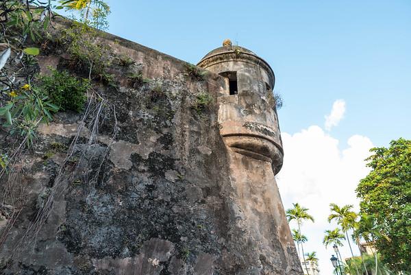 City Wall, Old San Juan