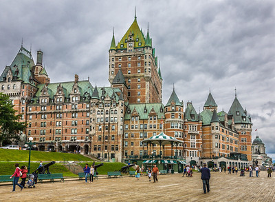 Le Chateau Frontenac, Quebec City, Quebec, 2007