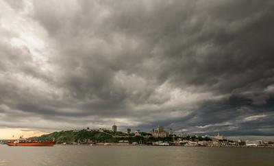Stormy Sky, Quebec City, Quebec, 2007