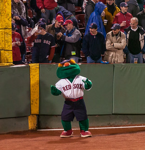Wally - The Second Green Monster in Fenway