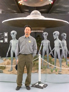 Hangin' with the aliens