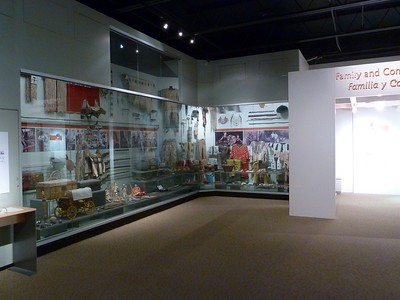 The history section of the Roswell Museam