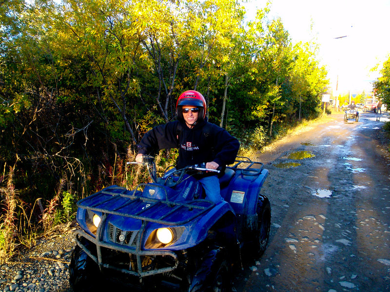 4-Wheeling just outside of Denali Park!