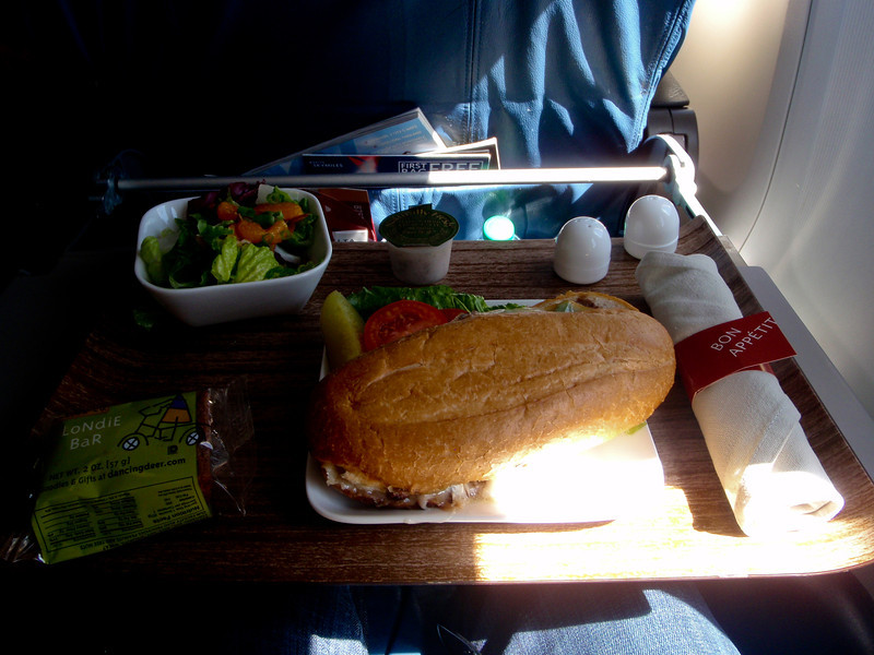 Lunch on Delta