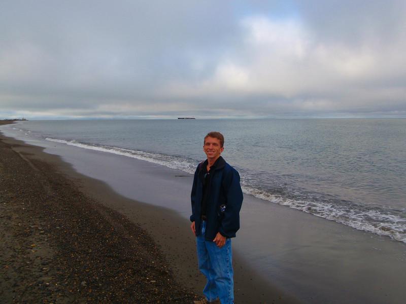 Overlooking the Arctic Ocean