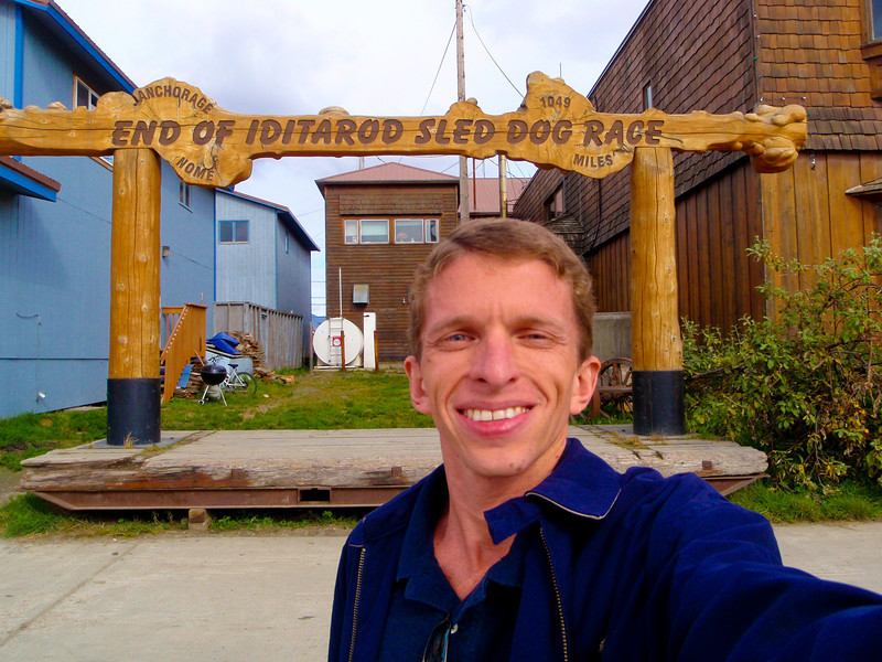 End of the Iditarod Trail! | Nome
