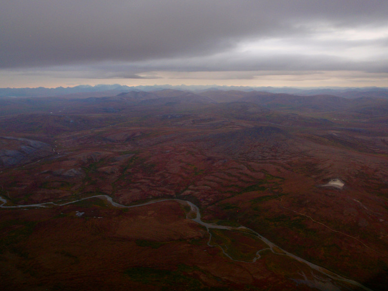 Flying to Nome