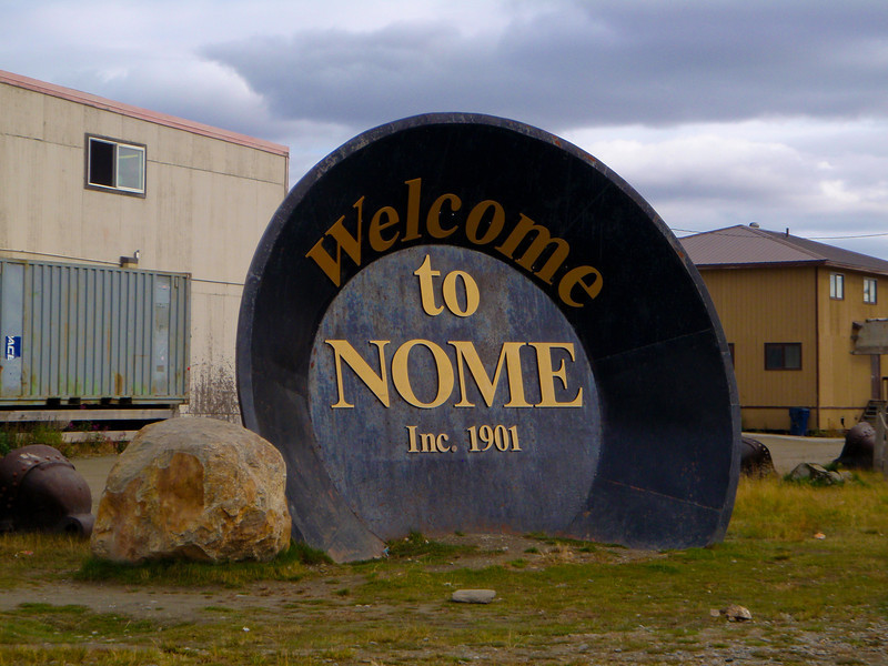 Largest Gold Pan in the World... lol | Nome