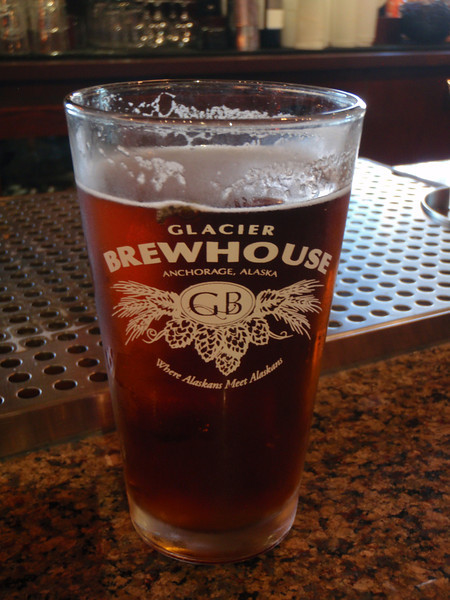 Glacier Brewhouse for lunch   Anchorage