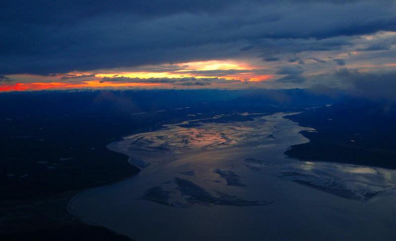 Departing Anchorage