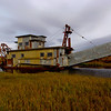 An old Gold Dredger | Nome