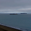 Barges delivering the winter fuel supply | Barrow