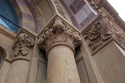 Fancy Corinthian columns