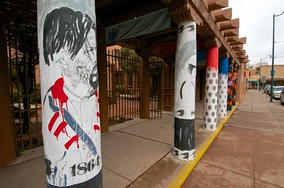 Graffiti Art Pillars