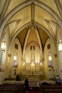 Inside of the chapel