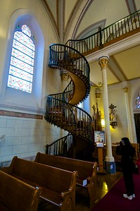 Spiral staircase of Loretto Chapel