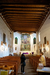 Interior of the Mission