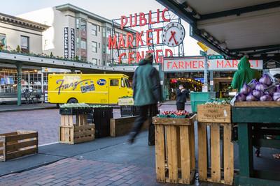 Pike Street Market, Seattle, 2010