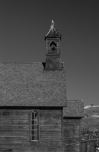 Chapel - Ghost Mining Town - Bodie, CA